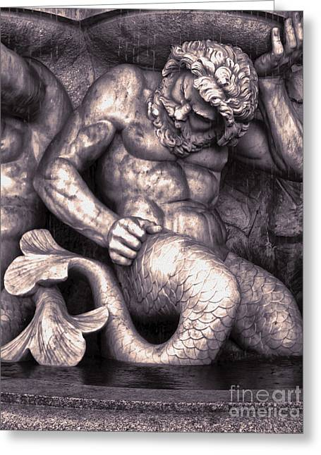 Vienna Austria - Neptune Fountain Greeting Card