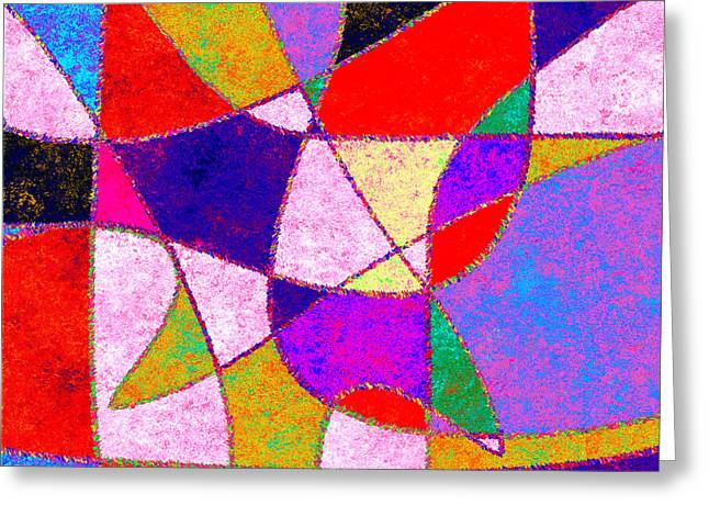 0269 Abstract Thought Greeting Card
