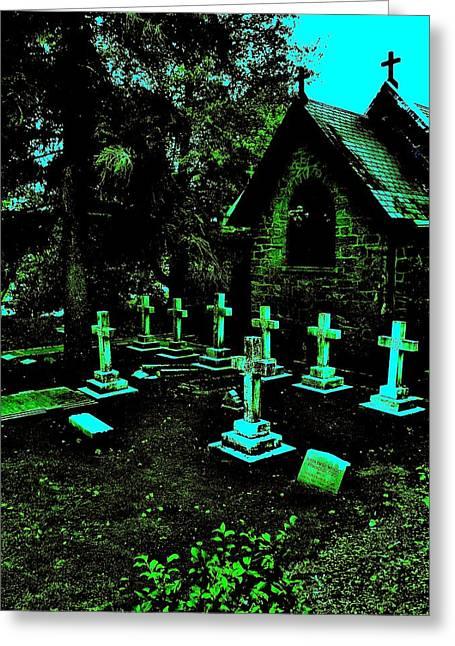 11 Crosses Greeting Card