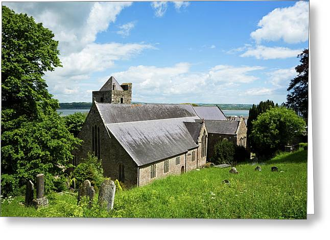 13th Century Collegiate Church Of St Greeting Card
