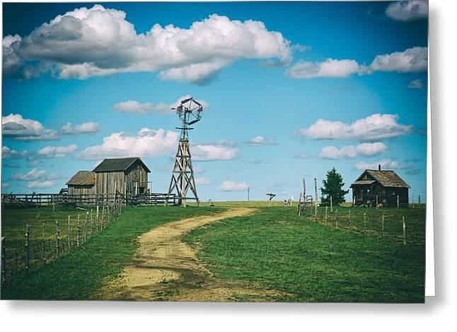 1880s Town Murdo South Dakota Greeting Card