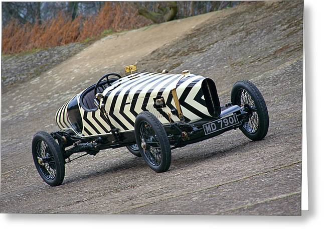 1918 Brooklands Straker-squire X2, 4.0 Greeting Card by Panoramic Images