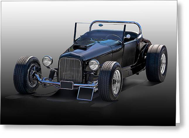 1927 Ford Roadster Greeting Card by Dave Koontz