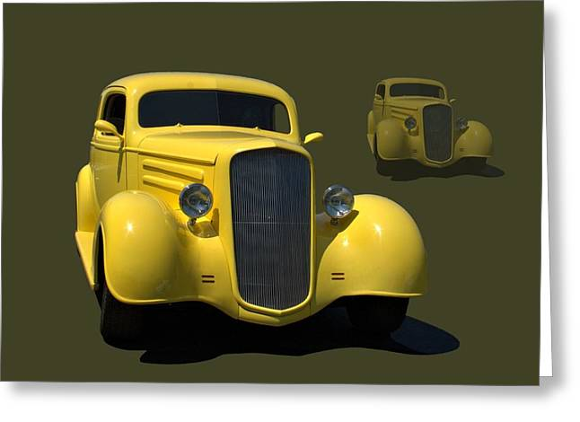 1935 Chevrolet Sedan Hot Rod Greeting Card by Tim McCullough