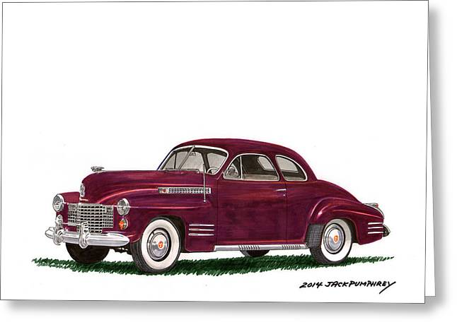 Cadillac 62 Coupe Greeting Card