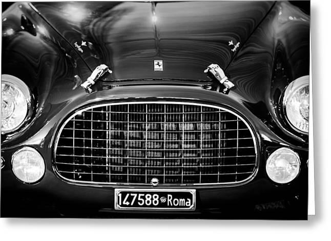 1951 Ferrari 212 Export Berlinetta Greeting Card by Jill Reger