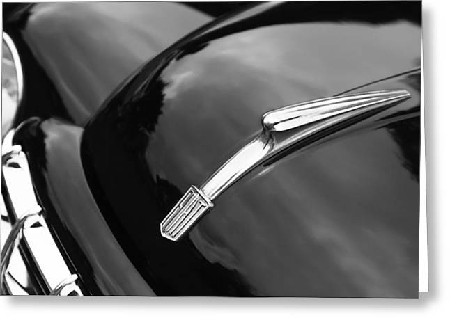 1951 Fiat Hood Ornament - Emblem Greeting Card