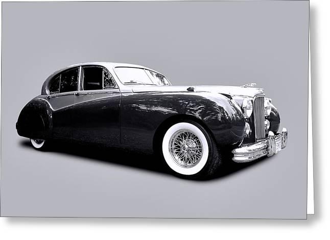 1953 Jaguar Mk Vii  Greeting Card by Allen Beatty