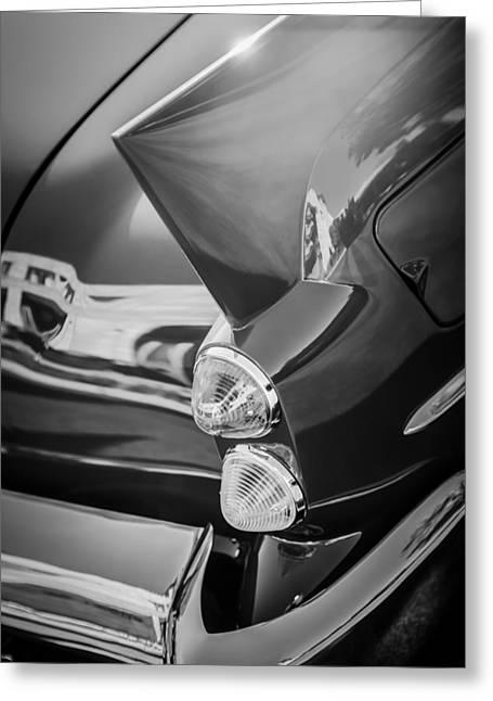 1957 Dual Ghia Sport Taillight Greeting Card