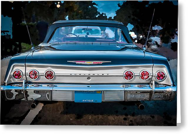1962 Chevrolet Impala Ss Greeting Card by Rich Franco