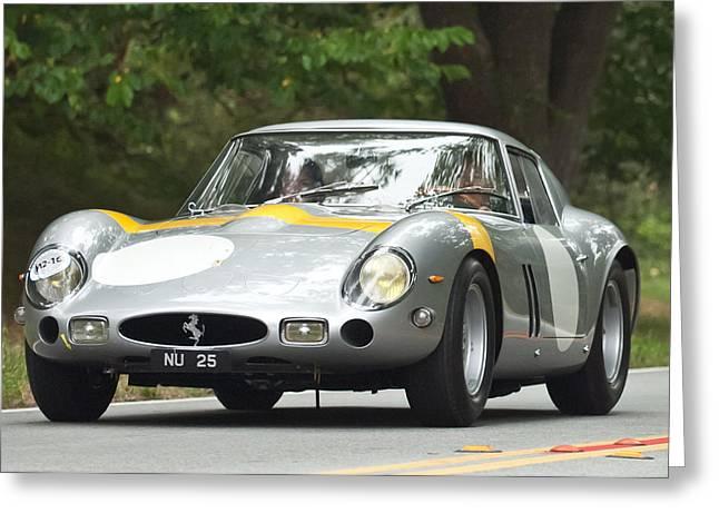 1963 Ferrari 250 Gto Scaglietti Berlinetta Greeting Card by Jill Reger
