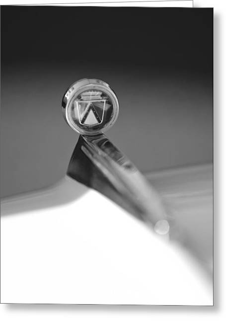 1963 Ford Futura Hood Ornament Greeting Card by Jill Reger