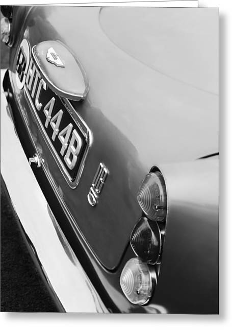 1964 Aston Martin Db5 Coupe' Taillight Greeting Card by Jill Reger