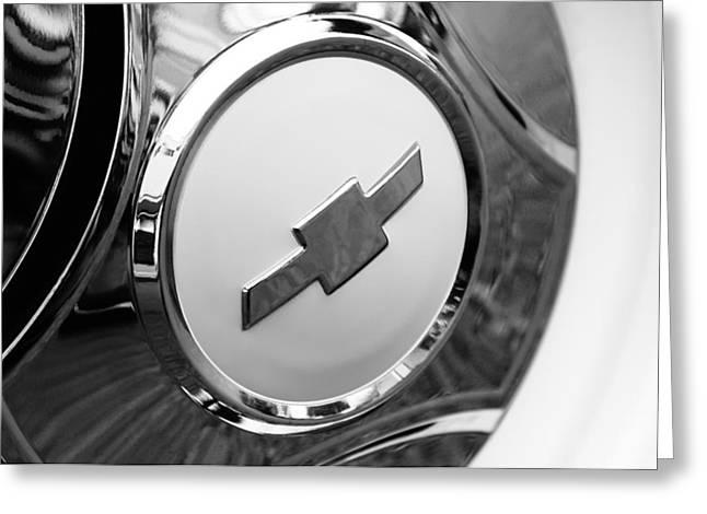 1964 Chevrolet Pickup Truck K 10 Wheel Emblem Greeting Card