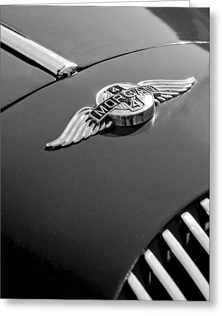 1964 Morgan 44 Hood Ornament Greeting Card