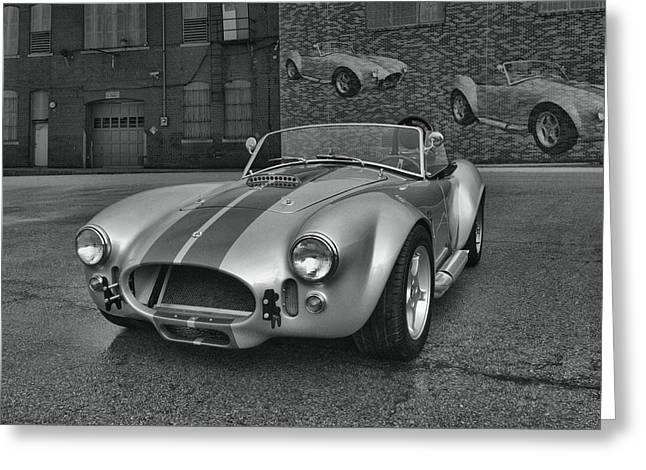 Greeting Card featuring the photograph 1965 Shelby Cobra Replica by Tim McCullough