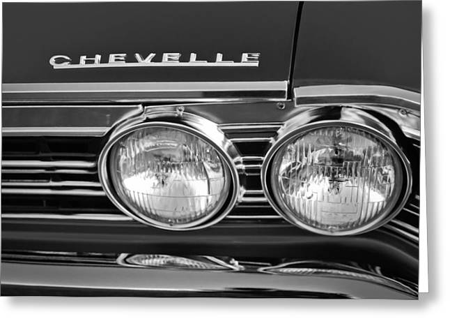 1967 Chevrolet Chevelle Super Sport Emblem Greeting Card by Jill Reger