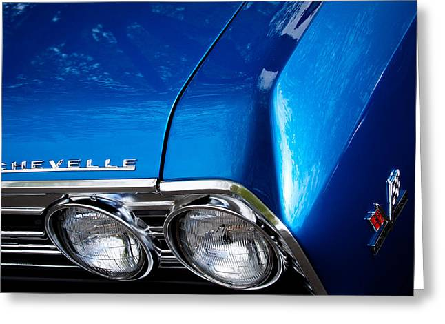 1967 Chevy Chevelle Ss Greeting Card