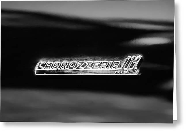1968 Intermeccanica Italia Carrozzeria Im Torino Emblem Greeting Card