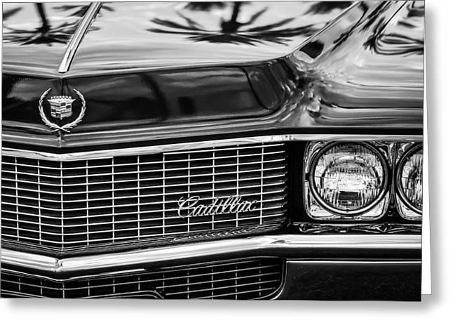 1969 Cadillac Eldorado Grille Greeting Card by Jill Reger