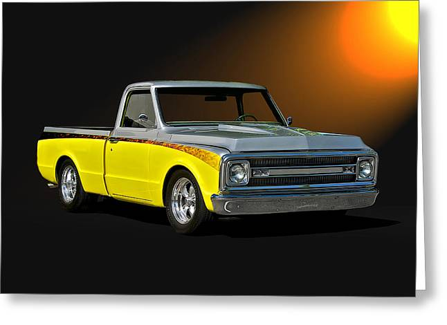1969 Chevrolet C10 Pick Up Greeting Card by Dave Koontz