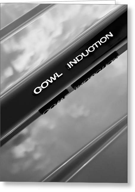1970 Chevrolet Camaro Pro Touring - Cowl Induction Emblem Greeting Card by Jill Reger
