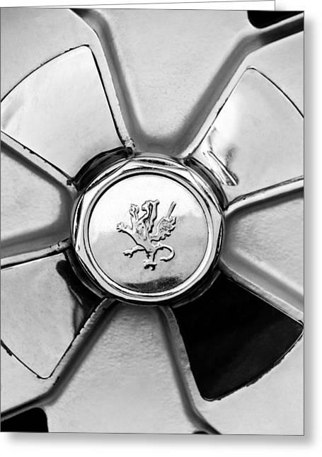 1971 Iso Fidia Wheel Emblem Greeting Card by Jill Reger