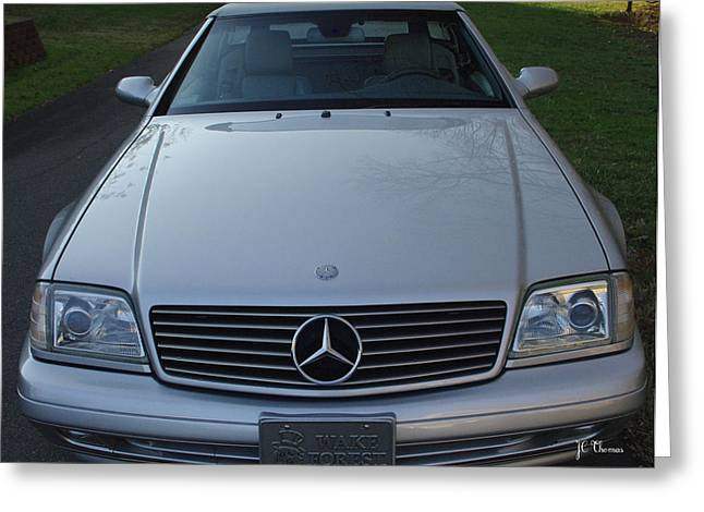 1999 Mercedes Sl500 Greeting Card
