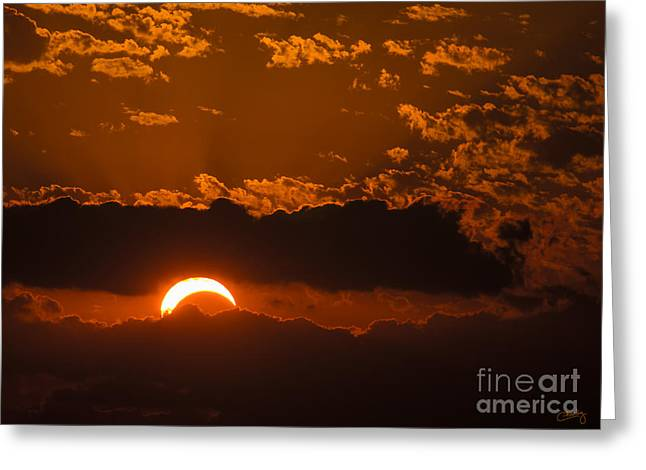 2012 Solar Eclipse Greeting Card