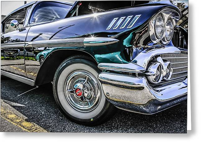 58 Chevy Impala Greeting Card