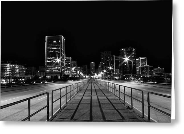 9th Street Bridge Greeting Card by Tim Wilson
