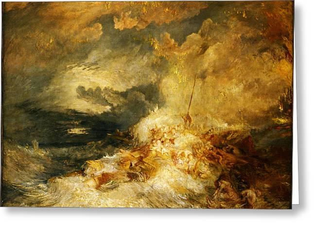 A Disaster At Sea Greeting Card