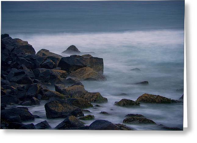 A Little Rocky Greeting Card by Michael James