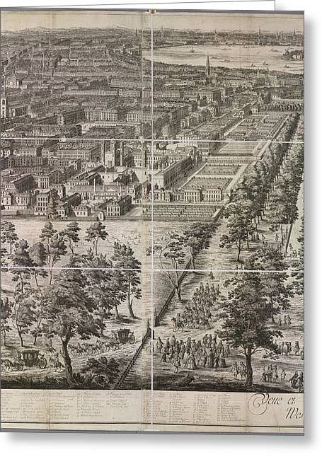 A Partial View Of The City Of London Greeting Card by British Library