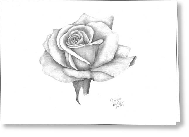 A Roses Beauty Greeting Card