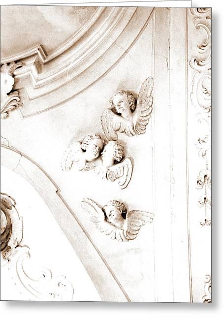 Abruzzo, Pescara, Penne, Madonna Del Carmine Greeting Card