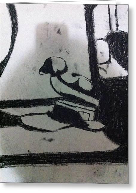 Abstract Drawing Greeting Card by Khoa Luu