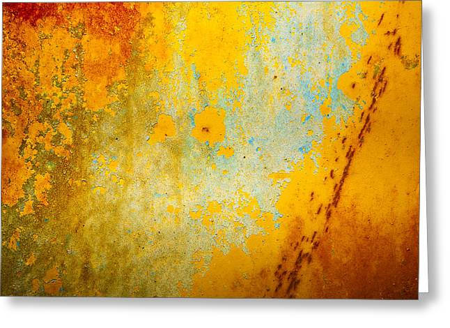 Abstract Greeting Card by Mark Weaver