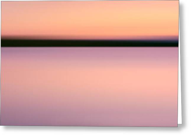 Abstract Sunset 2 Greeting Card by Rod McLean
