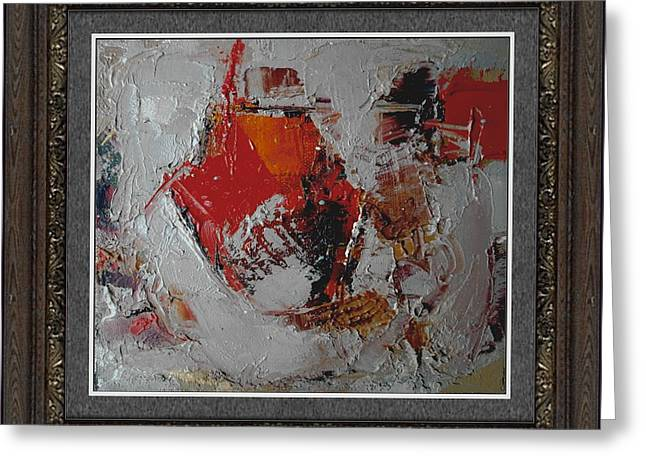 Abstraction Greeting Card by Pemaro