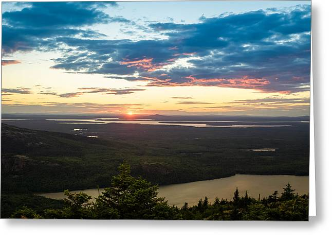 Acadia National Park Sunset  Greeting Card