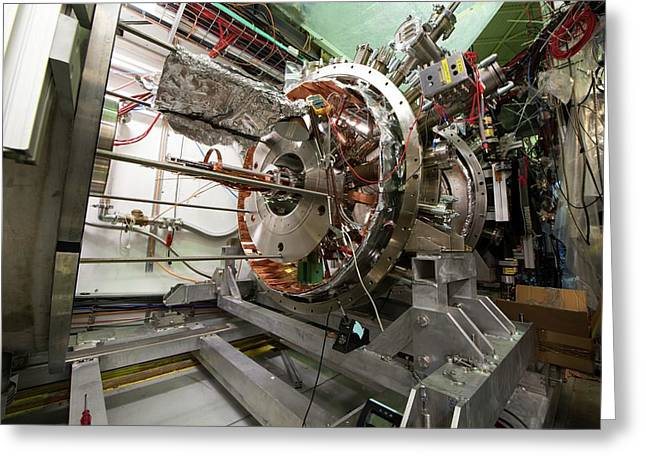 Aegis Experiment At Cern Greeting Card by Cern/science Photo Library