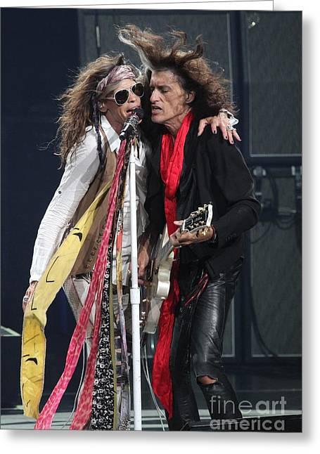 Aerosmith Greeting Card by Concert Photos