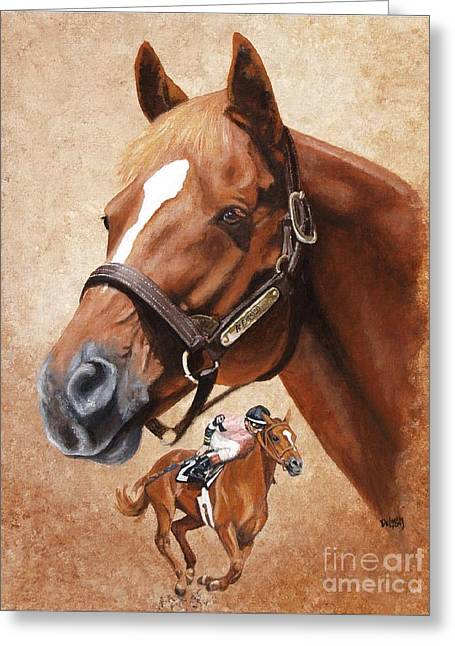 Affirmed Greeting Card by Pat DeLong