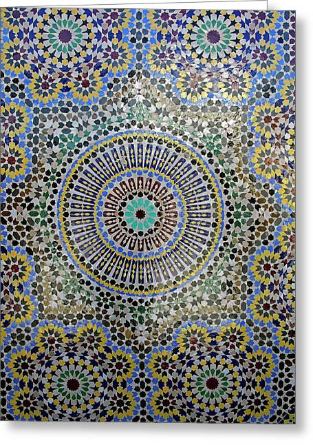 Africa, Morocco, Fes Greeting Card by Kymri Wilt