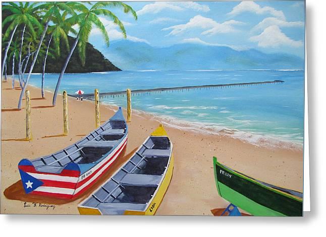 Aguadilla Crashboat Beach Greeting Card