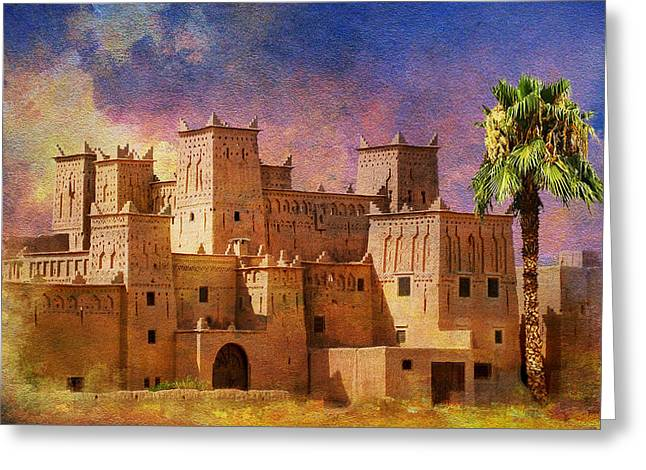 Ait Benhaddou  Greeting Card