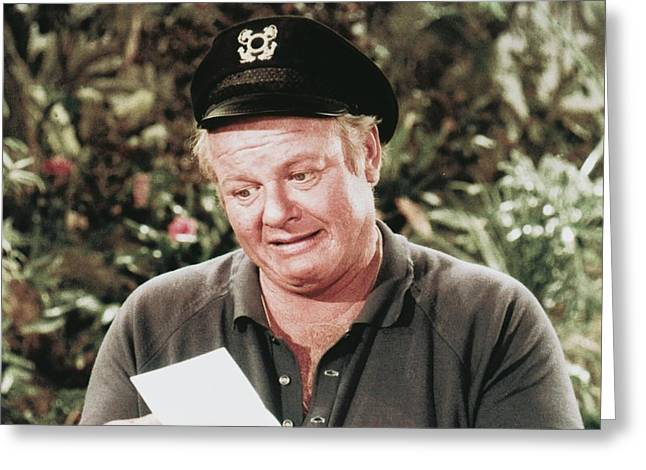 Alan Hale Jr. In Gilligan's Island  Greeting Card by Silver Screen
