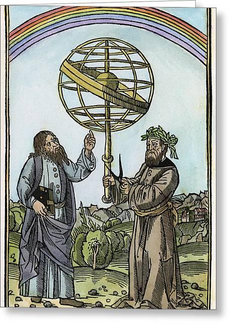 Albertus Magnus (1193-1280) Greeting Card by Granger