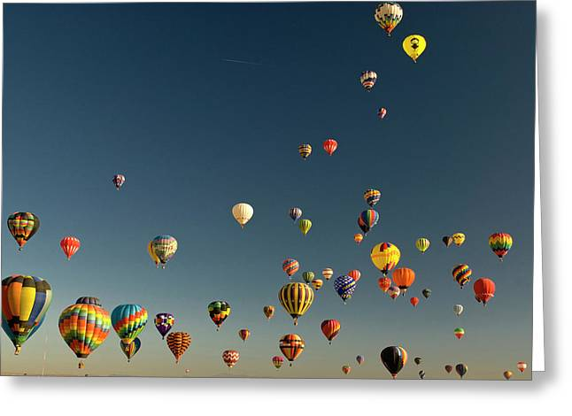 Albuquerque, New Mexico, Usa Greeting Card by Howie Garber